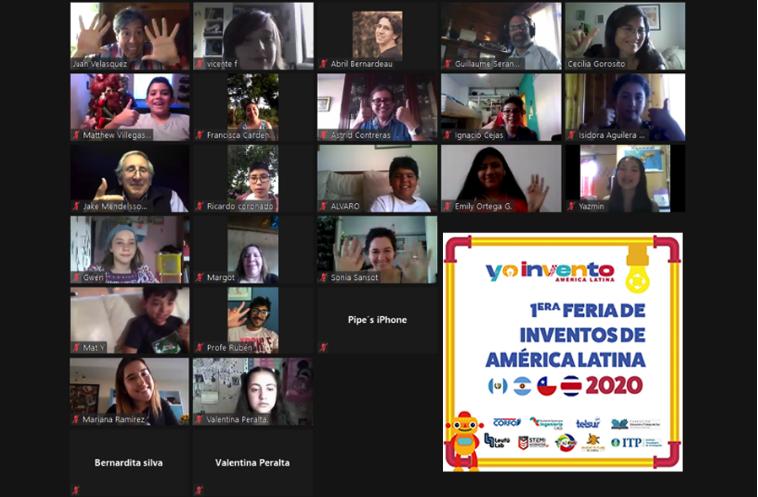 1era Feria de Inventos reunió a estudiantes de Latinoamérica en torno a la innovación y creatividad